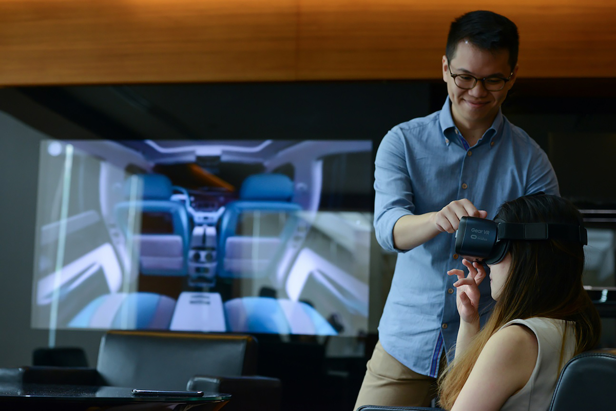 Rolls-Royce Motor Cars to Start Piloting the VR Experience to Customers in Singapore