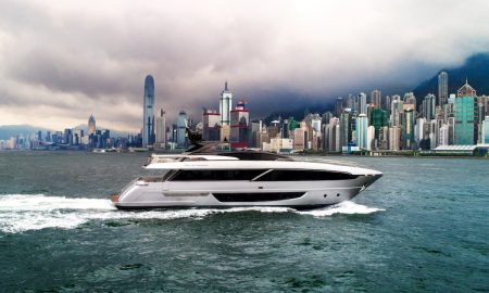 "The Riva 100' Corsaro Debuts During ""Ferretti Group Asia Pacific Open Days"" in Hong Kong"