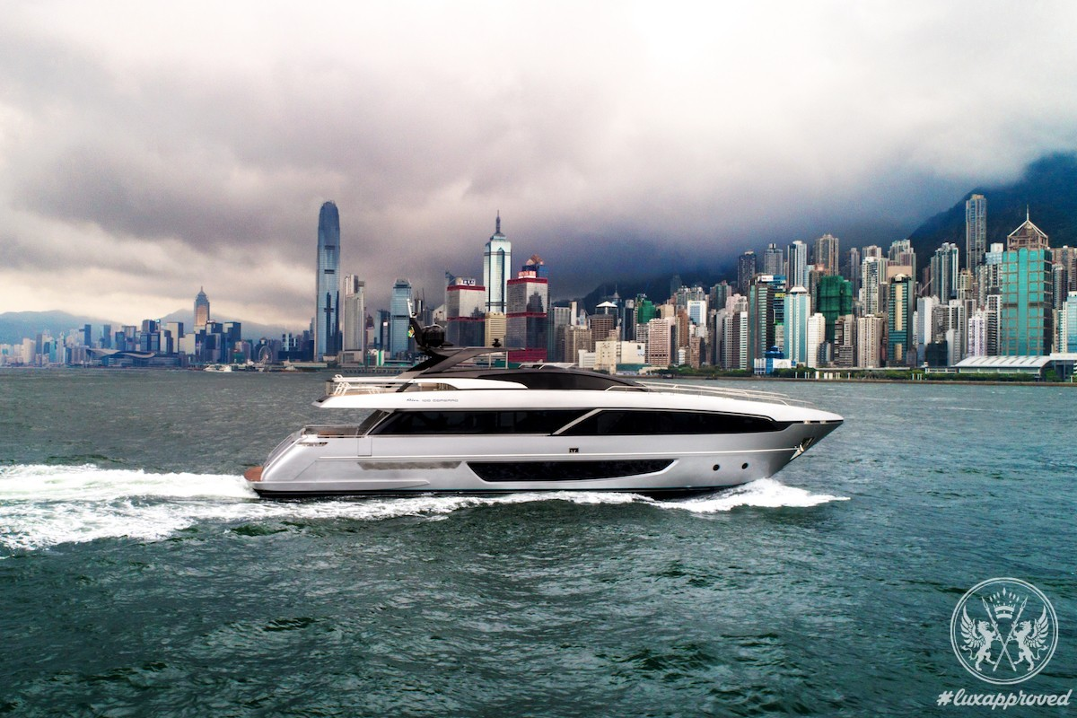"""The Riva 100' Corsaro Debuts During """"Ferretti Group Asia Pacific Open Days"""" in Hong Kong"""