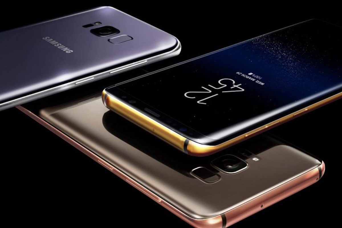 Truly Exquisite Gold Plates Samsung Galaxy S8 & S8 Plus