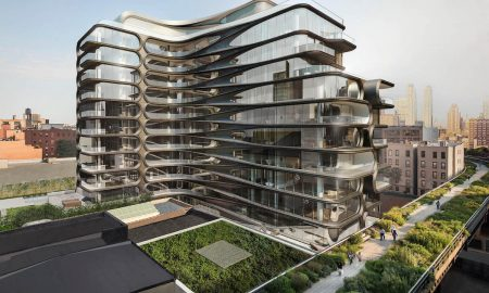 A Sneak Peek Inside Zaha Hadid's 520 West 28th Street Residences