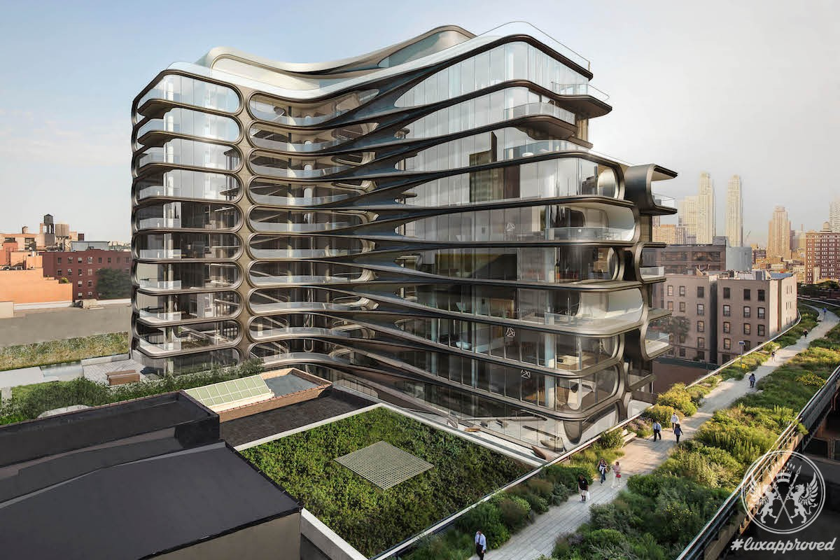 A Sneak Peek Inside Zaha Hadid's 520 West 28th Street Residences