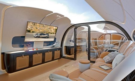 Airbus Corporate Jets and Pagani Unveiled Infinito Cabin Design for the ACJ319neo