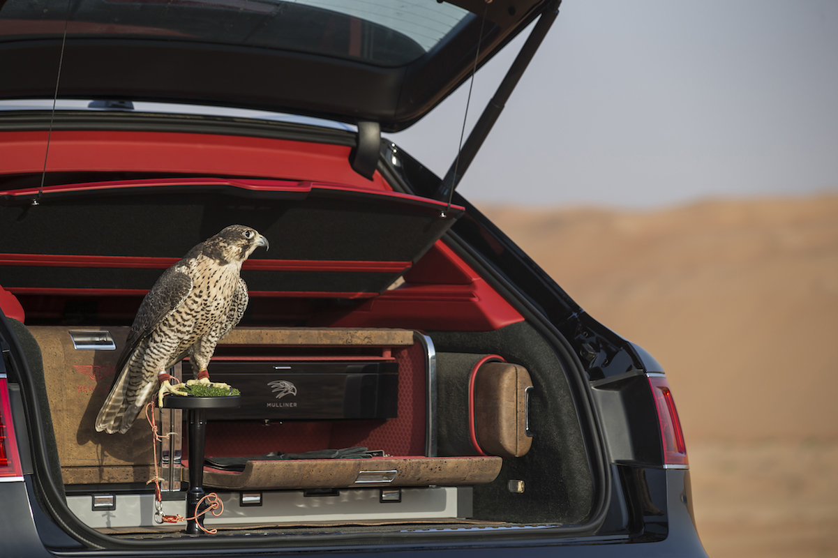 Bentley Creates the Ultimate In-Car Falconry Kit for Bentayga Falconry