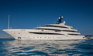 CRN M/Y Cloud 9 Is Delivered & Available for Charter in the Mediterranean This Summer