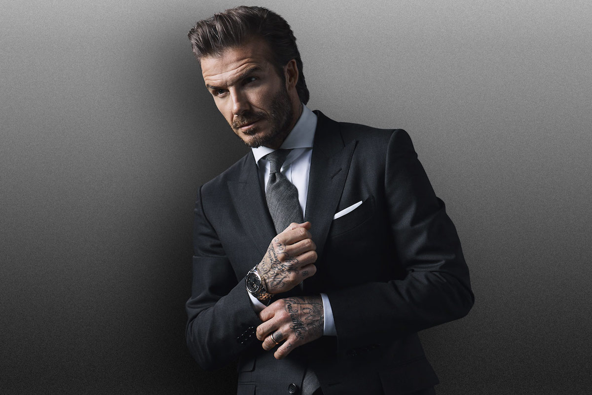 Tudor names david beckham as new brand ambassador - David beckham ...
