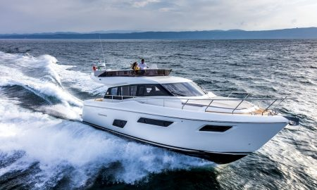 Ferretti Yachts 450 Claimed Trophies at the Asia Marine & Boating Awards and at the Adriatic Boat of the Year Awards