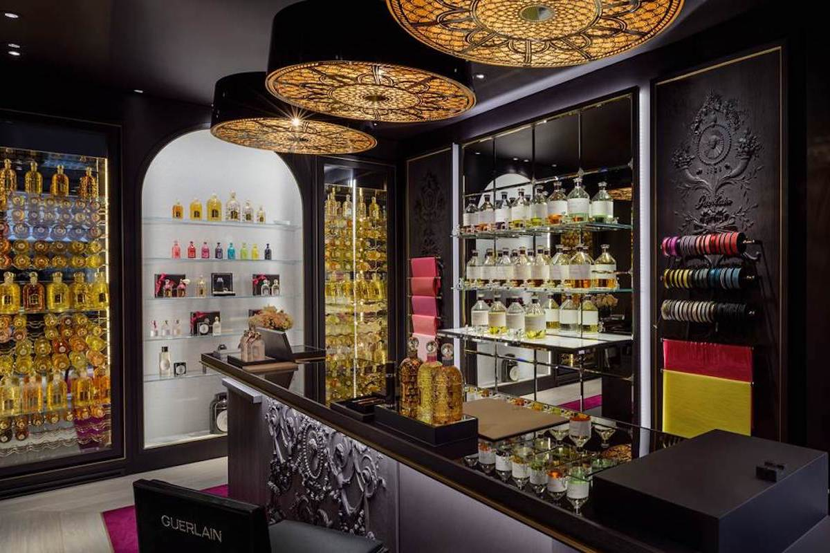 Guerlain Parfumeur depuis 1828 Opens at 52 Avenue Louise in Brussels