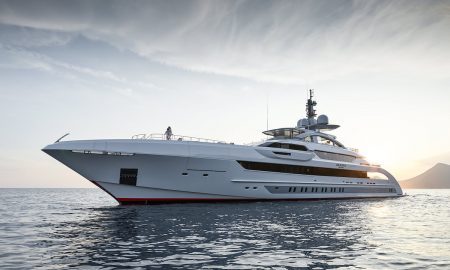 Galactica Super Nova & Amore Mio Pick Up the Neptune Trophy at the World Superyacht Awards