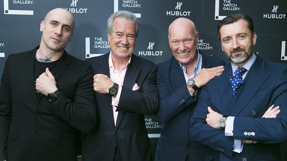 Hublot and The Watch Gallery Unveiled the Classic Fusion Chronograph Aerofusion RED