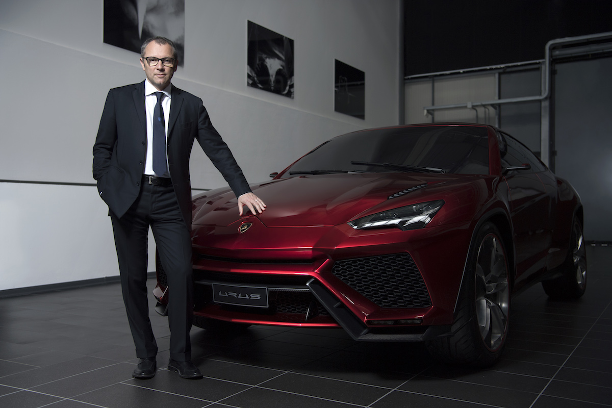 Paint Plant for Lamborghini Urus SUV Is on the Way at Sant'Agata Bolognese