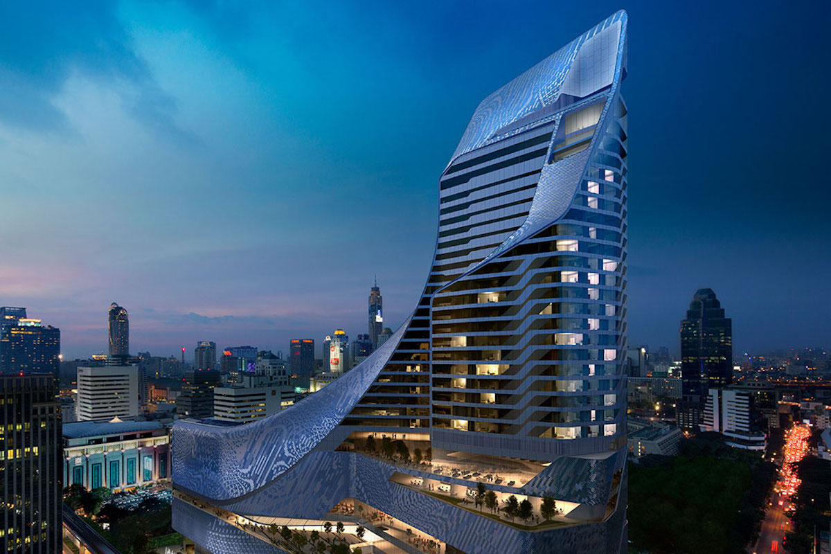 park hyatt bangkok is the first park hyatt hotel in thailand