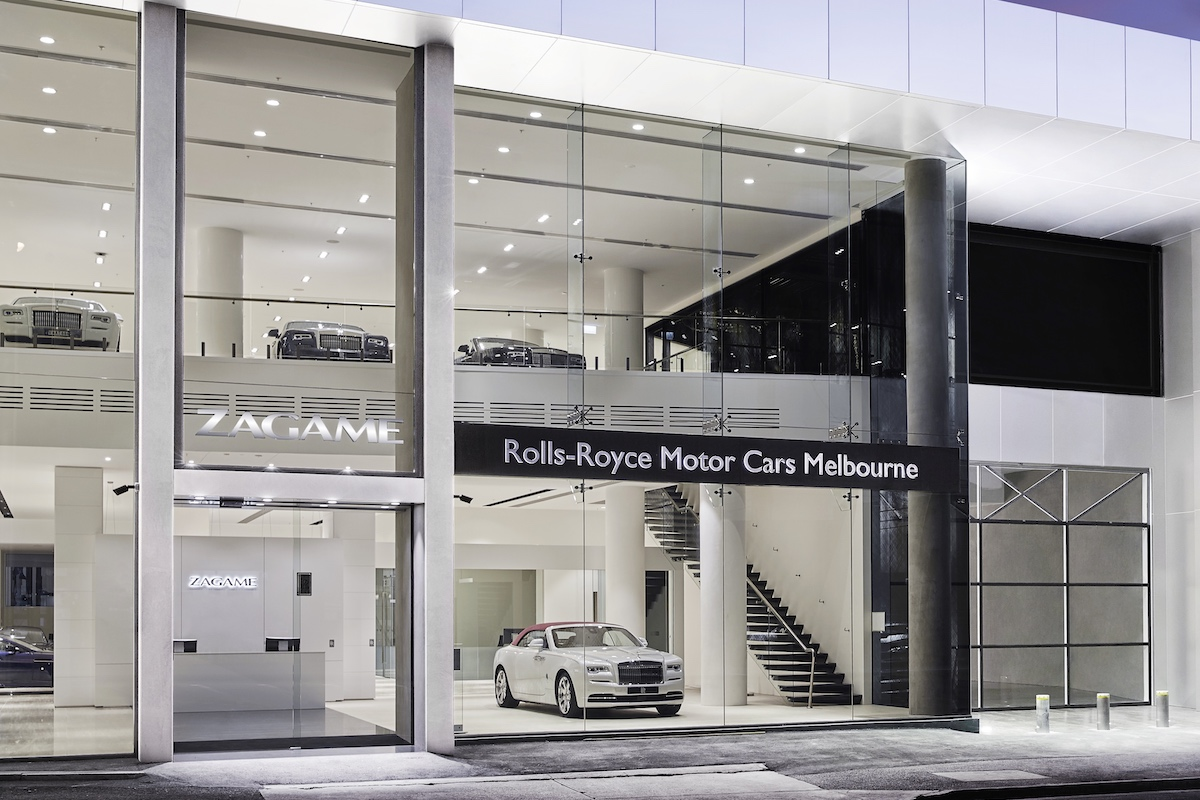 Rolls-Royce Motor Cars Melbourne Is the Marque's Largest Australian Showroom