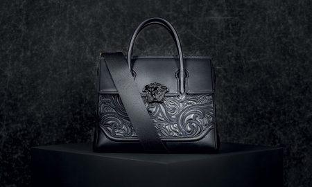 Versace Baroque Embroidered Palazzo Empire Handbag Joins the Palazzo Family