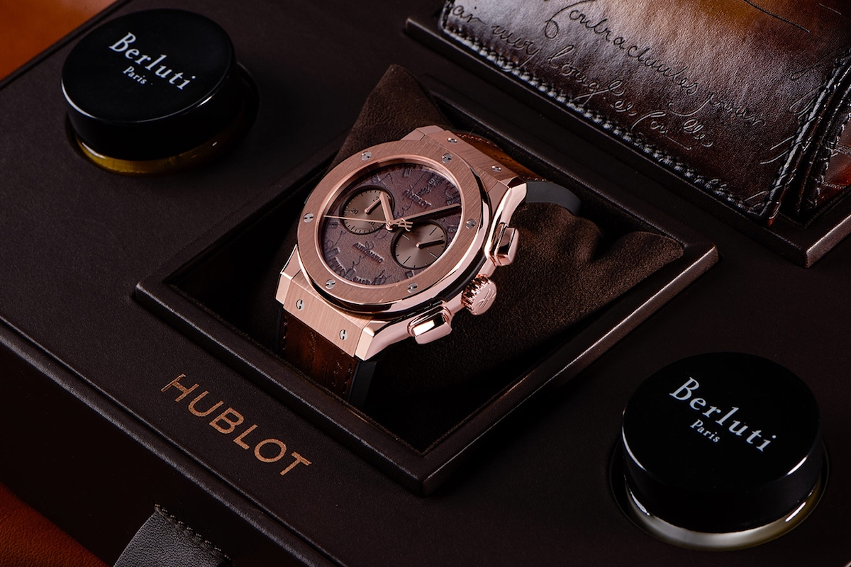 Hublot Unveiled Classic Fusion Chronograph Berluti
