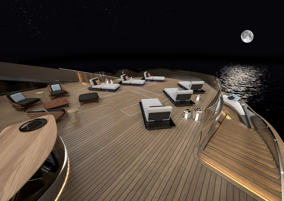 Pininfarina in Collaboration with Rossinavi Presents the Aurea Project