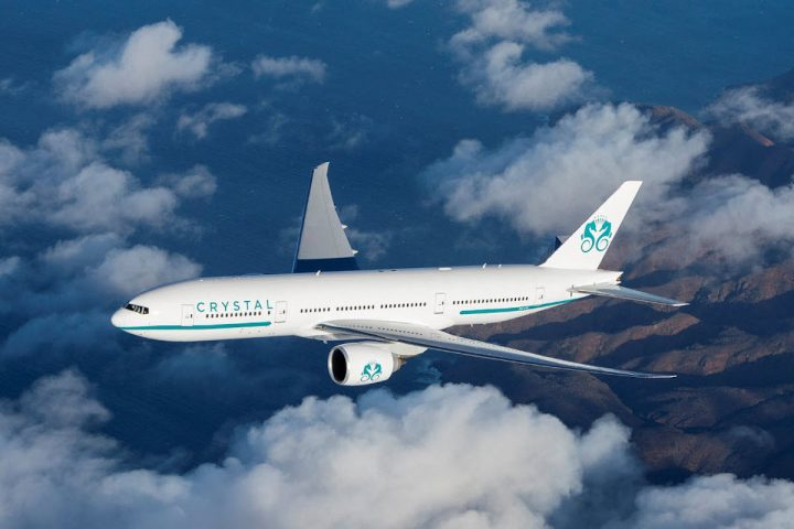 """Crystal AirCruises' Crystal Skye to Embark on Its First Journey During China's """"Golden Week"""""""