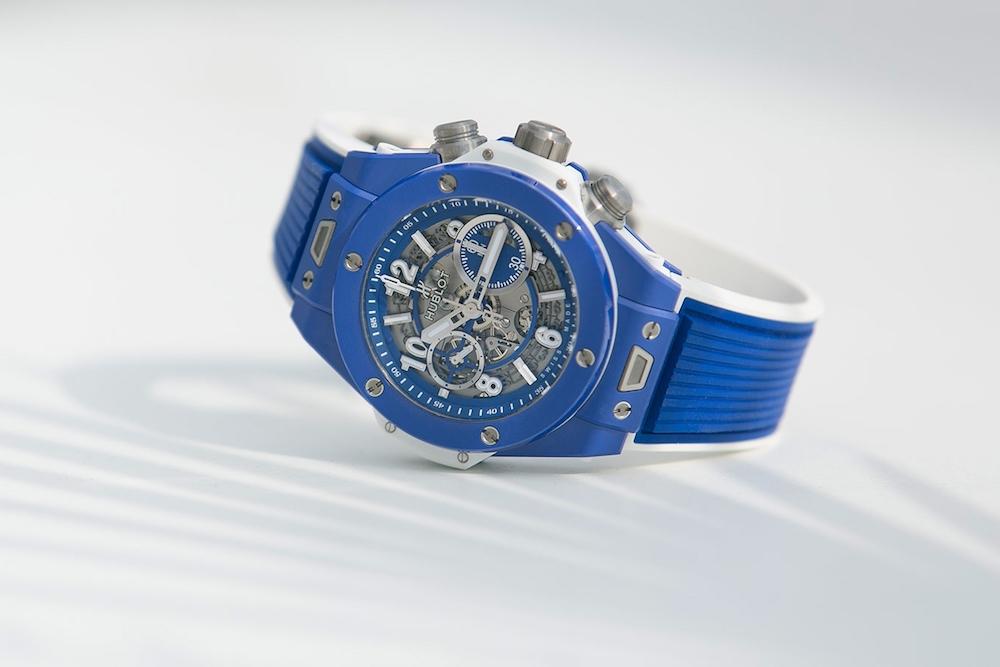 Hublot Celebrates Summer with the Big Bang Blue Watch