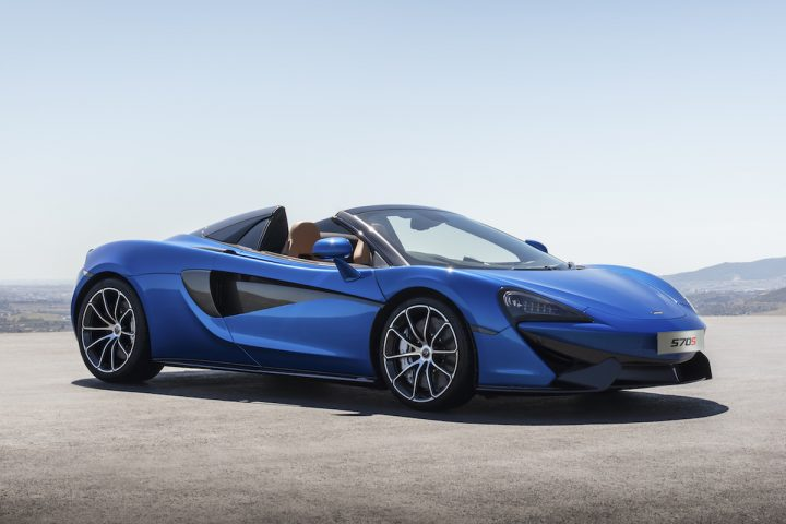 McLaren 570S Spider to Debut at Goodwood Festival of Speed at the End of June