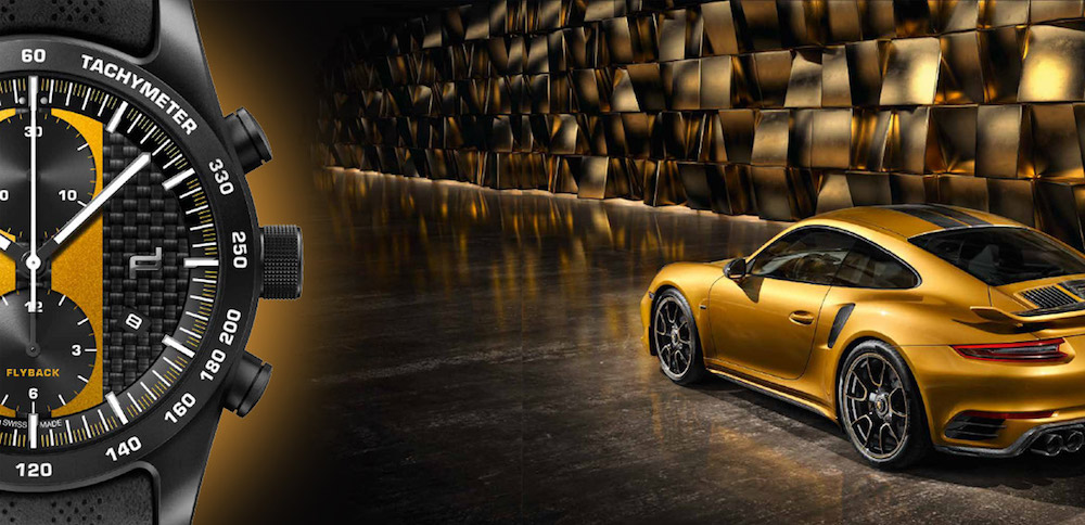 Porsche Design Chronograph 911 Turbo S Exclusive Series Is a Watch as Individual as Your Fingerprint