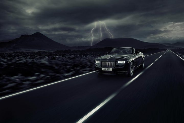 Rolls-Royce Dawn Black Badge Debuts at the Goodwood Festival of Speed