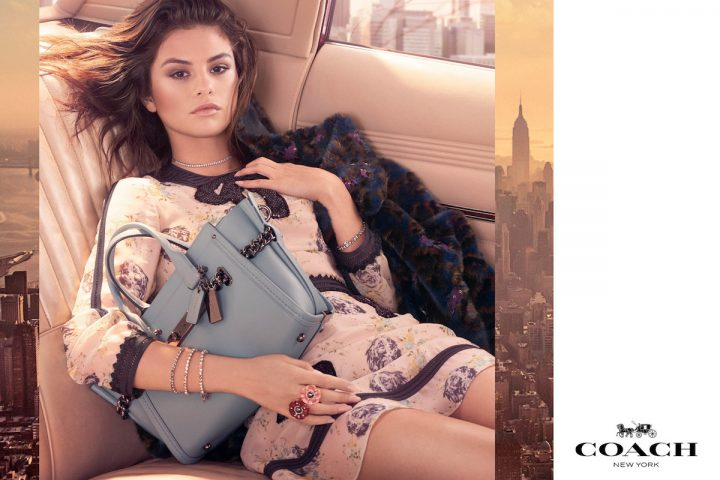 Selena Gomez Fronts Coach Fall 2017 Campaign Shot By Steven Meisel
