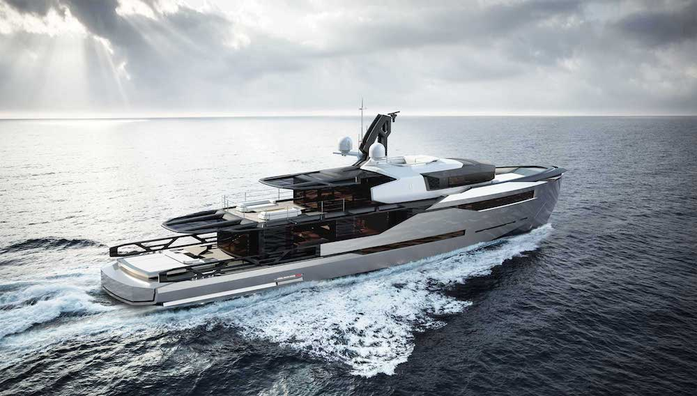 Superior Design and Engineering: Aeon 380 Yacht Concept