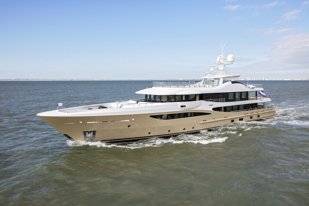 AMELS Delivers LILI, a Highly Customised Limited Editions Yacht