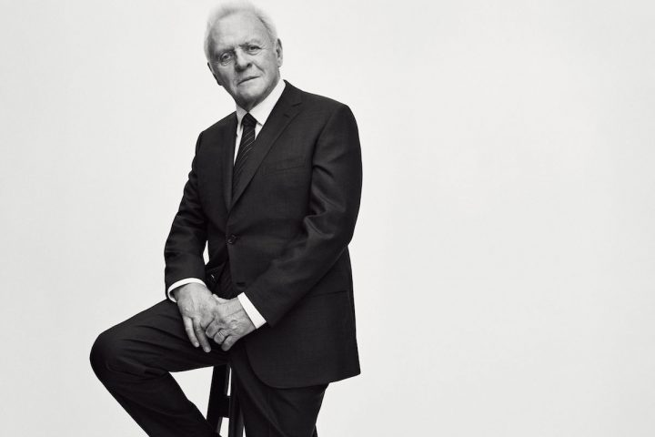 Sir Anthony Hopkins for Brioni Fall-Winter 2017 Advertising Campaign