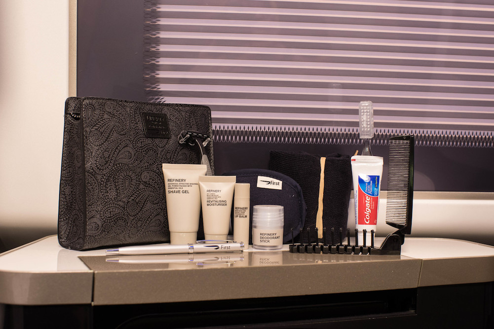 British Airways Introduced New Amenity Kits for Its First Fliers