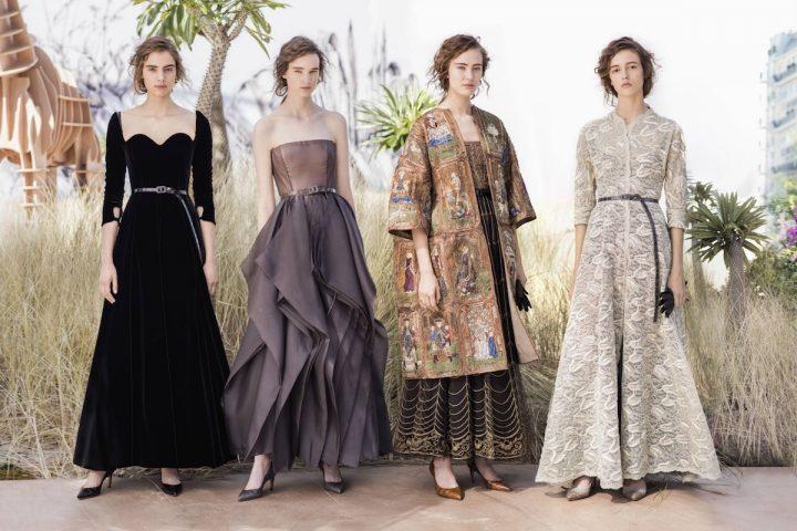 Female Explorers in Dior Autumn-Winter 2017-2018 Haute Couture Show