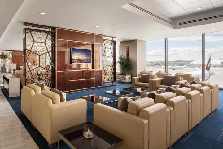 Emirates Opens a New Lounge at Boston Logan International Airport