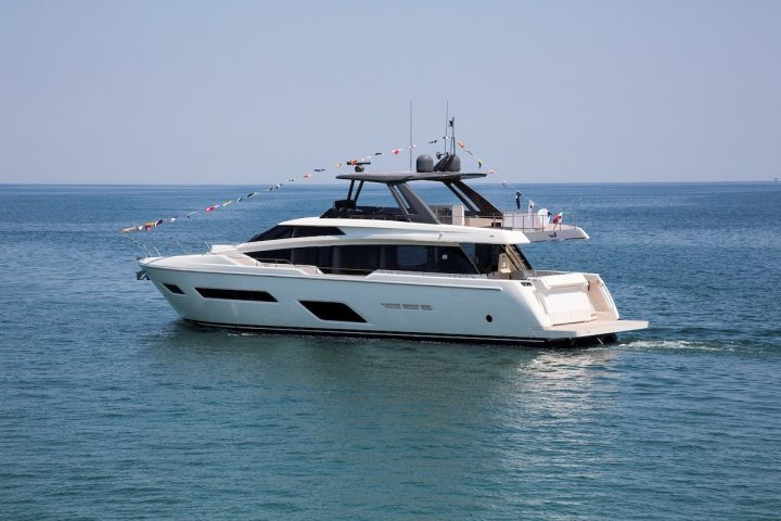Ferretti Yachts 780 Is Set for Its World Premiere in September