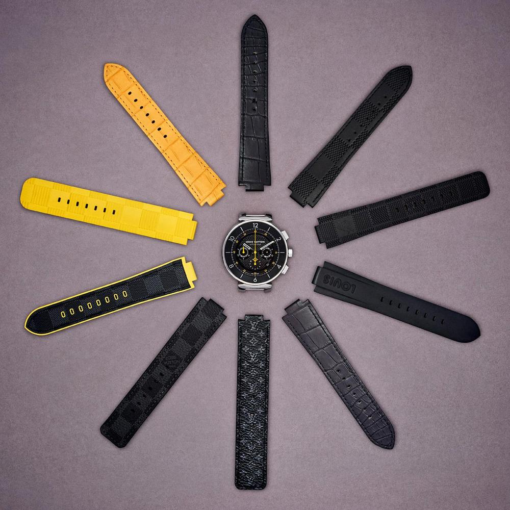 Design Your Own Louis Vuitton Tambour Watch with the Help of an Interchangeable Strap