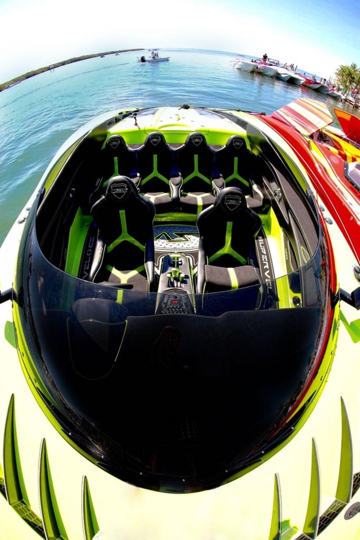 Lamborghini MTI 52' Super Veloce Speedboat Comes with a Matching Aventador SV Roadster