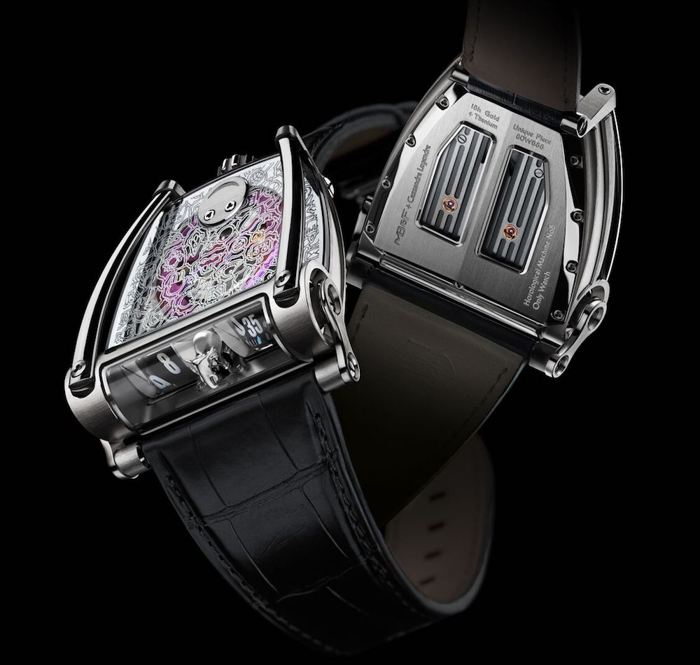 MB&F HM8 Only Watch Is Created in Collaboration with 15-year-old Cassandra Legendre