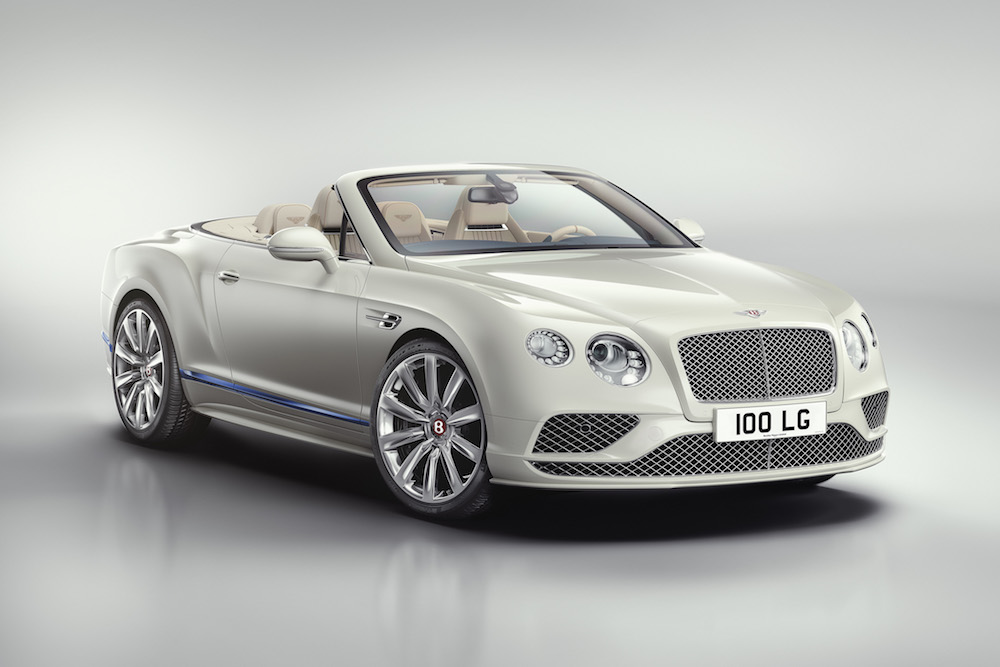 Bentley Continental GT Convertible Galene Edition by Mulliner Is Inspired by Luxury Yacht