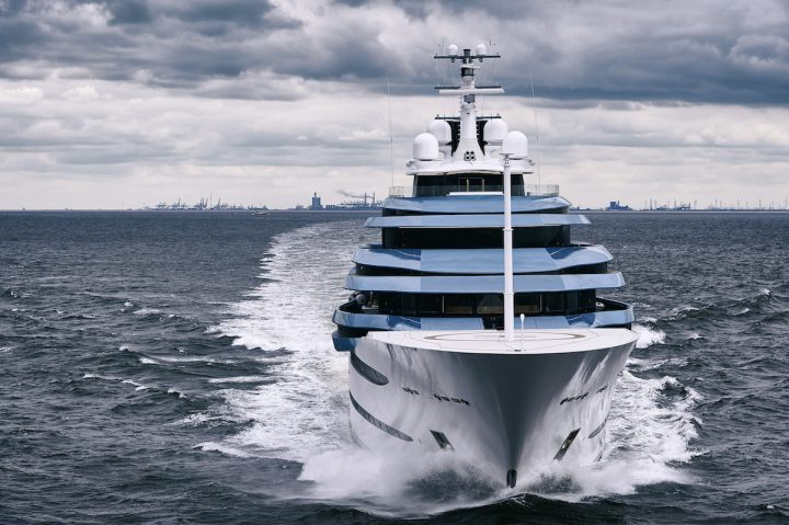 Oceanco Delivered the Spectacular 361 Feet Superyacht Jubilee