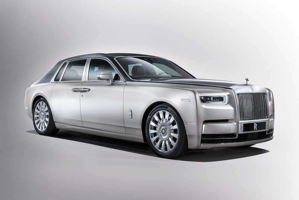 The New Rolls-Royce Phantom Arrives