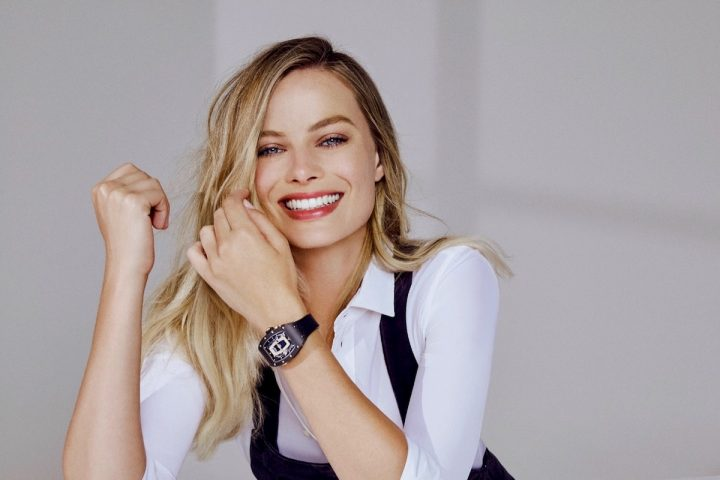 Margot Robbie Is Richard Mille's New Ambassador and Co-Designer