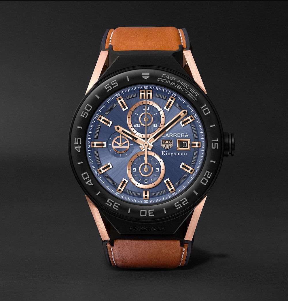 TAG Heuer Connected Modular 45 Kingsman Special Edition on Mr Porter
