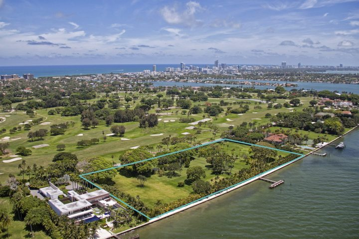 Julio Iglesias Lists Four Waterfront Lots at Indian Creek Village for $150 Million