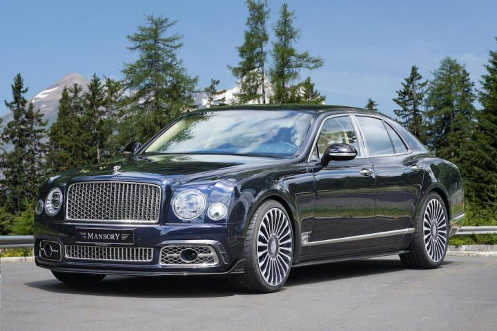 MANSORY Bentley Mulsanne Is Blessed with Powerful Performance Enhancements