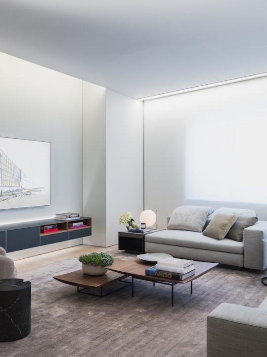 adao Ando's First NYC Condo Unveils New Model Home by Michael Gabellini