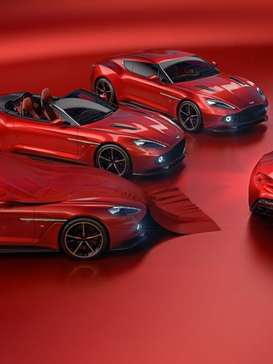 Vanquish Zagato Shooting Brake & Speedster Join the Vanquish Zagato Family