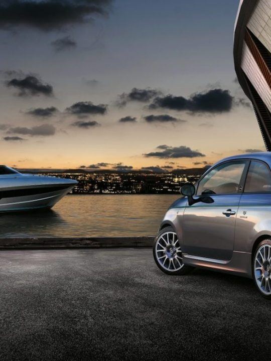 Take a Look at Abarth 695 Rivale, a Limited Edition Car Inspired by Riva 56' Rivale Yacht