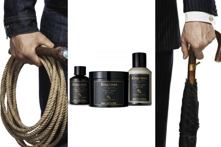 The Art of Shaving Introduces Kingsman: The Golden Circle Bourbon Shave Collection