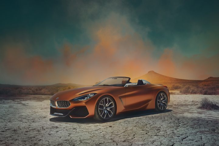 The BMW Concept Z4 Is a Vision of a Modern Roadster