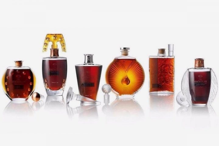 The Macallan in Lalique Six Pillars Collection to Lead Bonhams Whisky Sale in Hong Kong