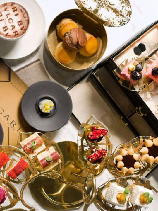 Bulgari Roman Holidays Afternoon Tea Experience at The Ritz-Carlton Bar & Lounge, Macau